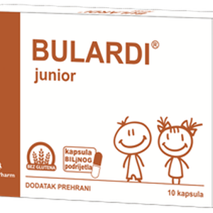 Bulardi junior, 10 kapsula