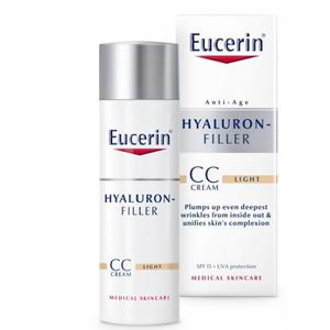 Eucerin hyaluron filler CC krema SPF15 LIGHT   50 ml