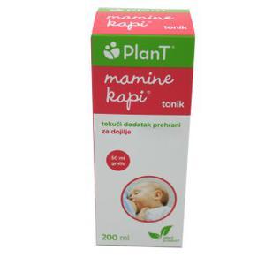 PlanT mamine kapi tonik 200 ml