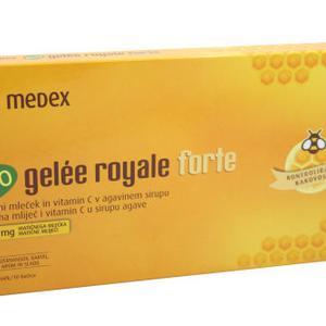 Medex BIO gelee royal forte ampula 10x9 ml