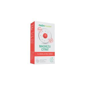 Nutripharm magnezij citrat 375 mg  20 šumećih tableta