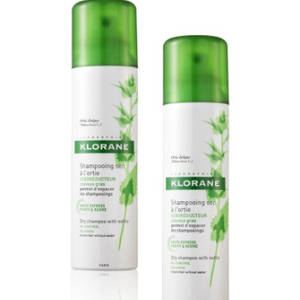 Klorane organska kopriva suhi šampon DUO PACK