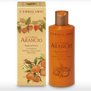 Lerbolario Arancio Pjenušava kupka 250 ml