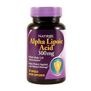 Natrol aplha lipoic acid 300 mg  50 kapsula