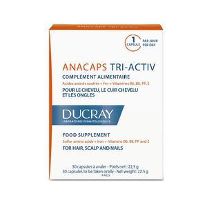 Ducray Anacaps tri-activ 30 kapsula