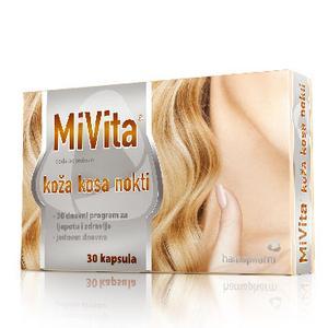 MiVita koža kosa nokti, 30 kapsula