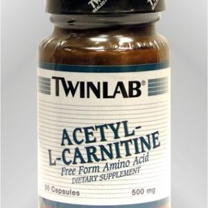 Twin Lab Acetyl L-Carnitine, 30x500mg