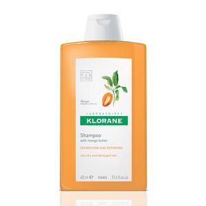 Klorane šampon s mangovim maslacem, 400 ml