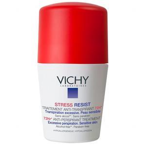 Vichy Dezodorans roll-on Anti-stres tretman protiv znojenja 72h (crveni) 50 ml
