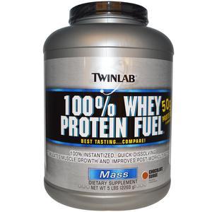 Twinlab 100% Whey Protein Fuel čoko 2268g