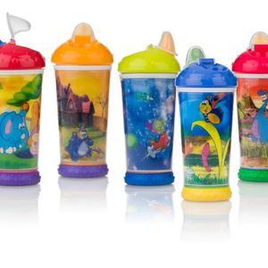 Nuby dječja čaša s animacijama i kljunastim sisačem, 330ml, N9693