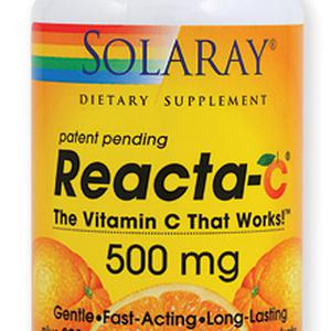 Solaray Reacta C 500mg, 60 tableta