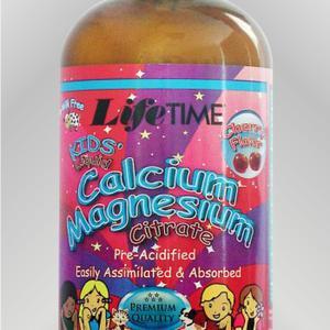 Lifetime tekući kalcij magnezij citrat za djecu, 473 ml