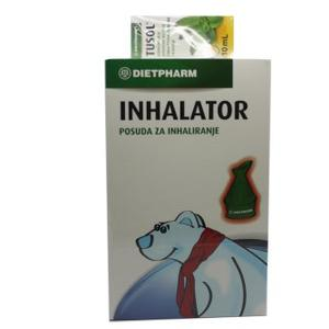 Dietpharm tusol ulje 10 ml+ inhalator gratis
