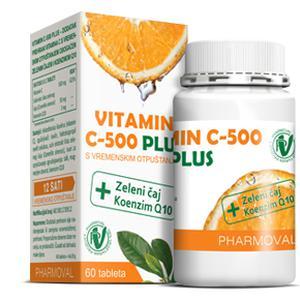 Vitamin C-500 Plus s vremenskim otpuštanjem