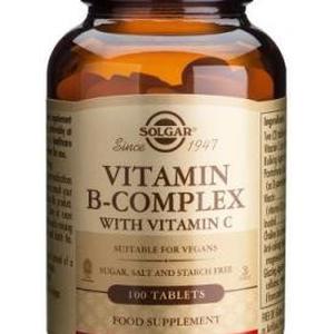 Solgar B complex +vitamin C 100 kapsula