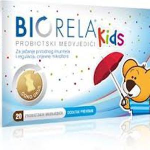 Biorela Kids probiotik, 20 pastila
