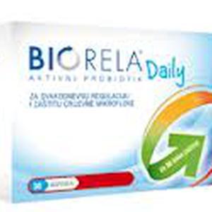 Biorela Daily probiotik, 30 kapsula