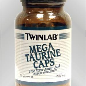 Twinlab Mega Taurin 1000 mg 50 kapsula