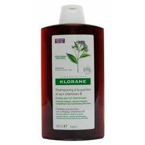 Klorane kinin+B vit. šampon 400 ml