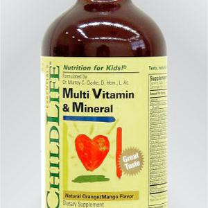 Child Life Multiviramini i minerali, 237 ml