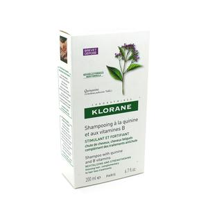 Klorane kinin+vitamin B šampon 200ml