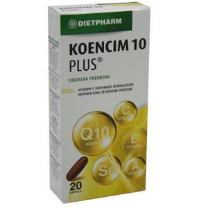 Koencim 10 plus 20 kapsula  Dietpharm
