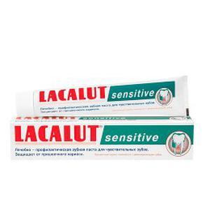 Lacalut zubna pasta Sensitive, 75 ml