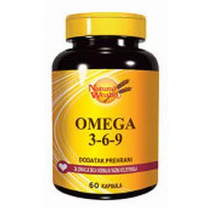 Natural Wealth omega 3-6-9 60 kapsula