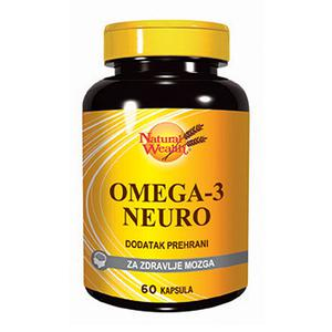 Natural Wealth Omega 3 neuro 1000 mg  60 kapsula