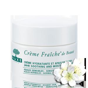 Nuxe Crème Fraîche® 24h hidratantna krema - normalna i osjetljiva koža