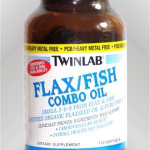 Twinlab  Flax/fish combo oil 120 kapsula