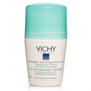 Vichy Dezodorans roll-on za regulaciju prekomjernog znojenja (zeleni), 50 ml