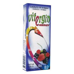 Vitergin šumsko voće, voćni bombon s vitaminima, 24 g