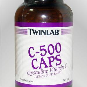 Twinlab C-500 mg 250 kapsula