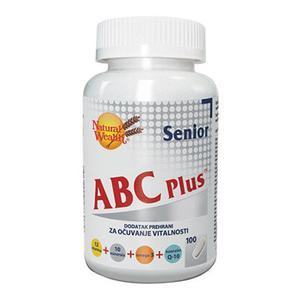 Natural Wealth ABC plus senior 100 tableta