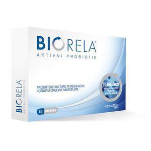 Biorela probiotik, 10 kapsula