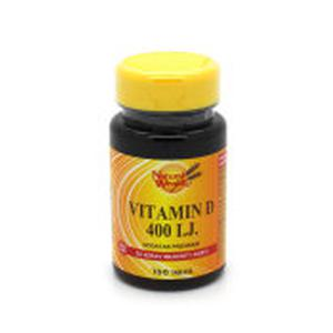Natural Wealth vitamin D 400 i.j 100 tableta