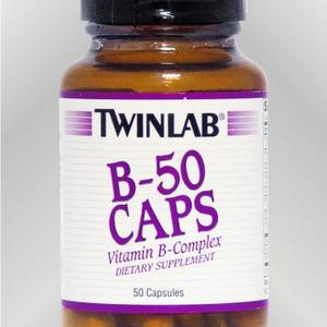 Twinlab B-50 vitamini B kompleksa 50 kapsula