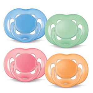 Avent duda varalica BPA free 6-18 mj. Nježna 2 kom.