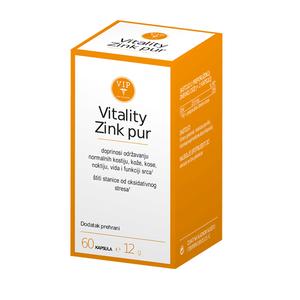 Vitality Zink Pur 60 kapsula