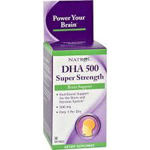 Natrol DHA 500 mg  30 kapsula
