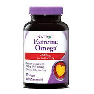 Natrol omega extreme 60 kapsula