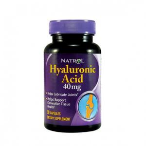 Natrol Hyaluronic acid  40mg    30 kapsula