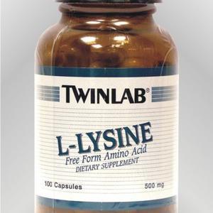 Twinlab L-lizin 500 mg 100 kapsula