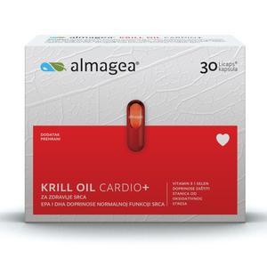 Almagea Krill Oil Cardio 500mg, 30 kapsula