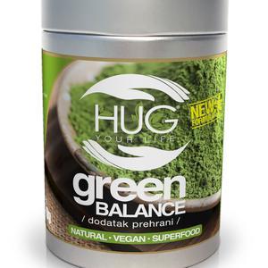 HUG Green balance prah 100g