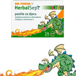 Dr. Theiss Herbalsept Kids pastile 24 pastile