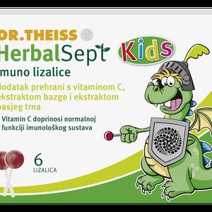 Herbalsept kids imuno 6 lizalica