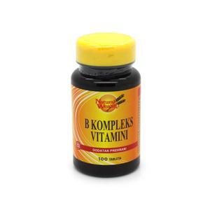 Natural Wealth B-complex vitamini 100 tableta